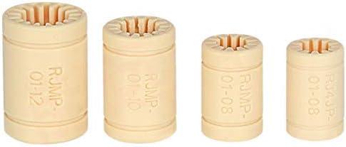 Printeraccessoires 4 stks RJMP01 RJ4JP Plastic Lineaire Lagers Bus Polymeer Lager As voor Mendel 3D Printer DIY Onderdelen