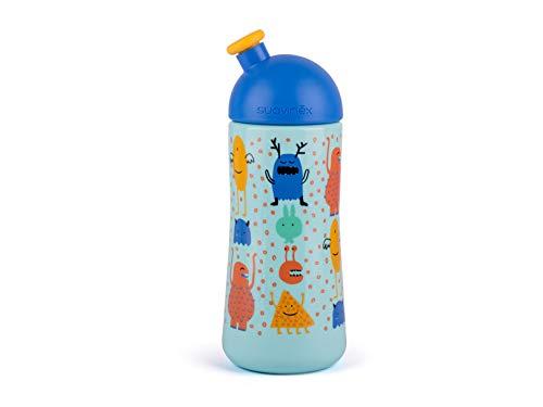 Suavinex Happy Bunny Biberon Physiologique en Silicone Orange 270 ml