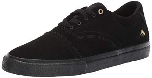 Emerica Men's Provider Skate Shoe, Black/Gum, 13 Medium US