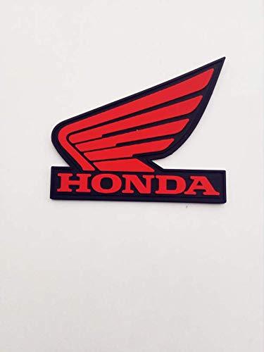 Aufnäher – Honda Logo Wing – PVC – Gummi – Country – Biker – Motorbike – Motorsport – Biker – Emblem – Patch – Customize