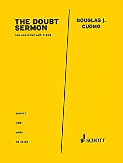 The Doubt Sermon from Doubt: Baritone and Piano