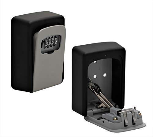 Caja fuerte llaves código numérico montaje pared