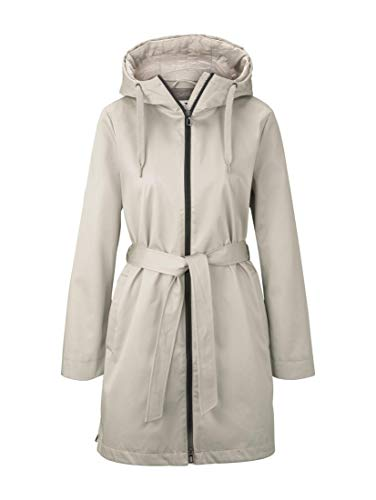 TOM TAILOR Sommer Jacke Damen, Grau (Pastel Grey), M