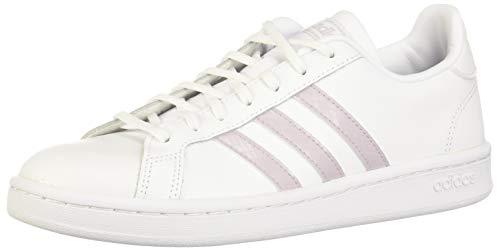 adidas Grand Court, Scarpe da Tennis Donna, Ftwr Bianco/Mauve/Grigio Due F17, 36 EU