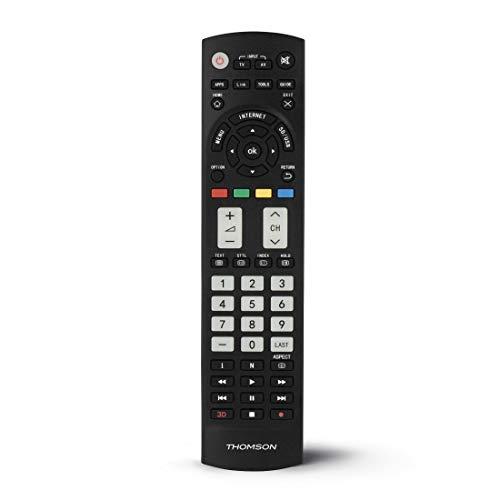 THOMSON ROC1128PANASONIC - Mando a Distancia Compatible con televisores de la Marca PANASONIC, Color Negro