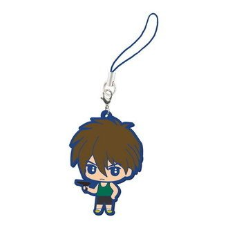 ATZ Enterprise Bandai Gundam Wing Shin Kidou Sneki Capsule Rubber Character Mascot Keychain ~2