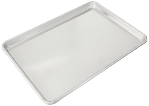 Vollrath 5314 Wear-Ever Half-Size Sheet Pan, 18-Inch x 13-Inch, Open-Bead, Aluminum, NSF