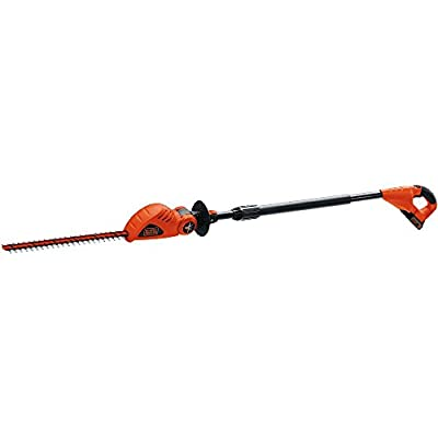 Black and Decker 20V Max Lithium Ion Pole Hedge Trimmer