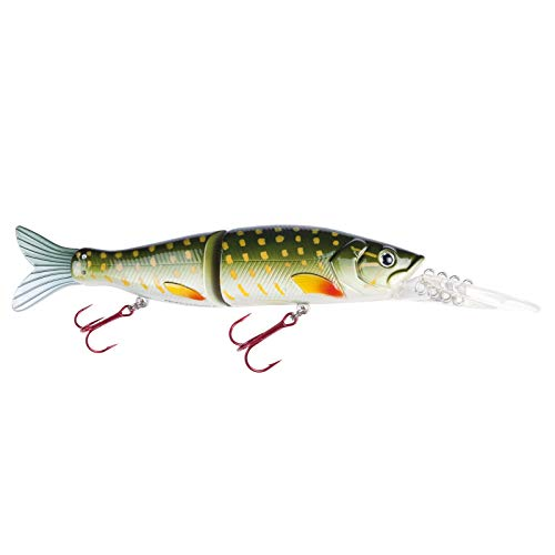 Jackson Wobbler Profi Hecht angeln Köder - Real Dive 150mm 45g Pike