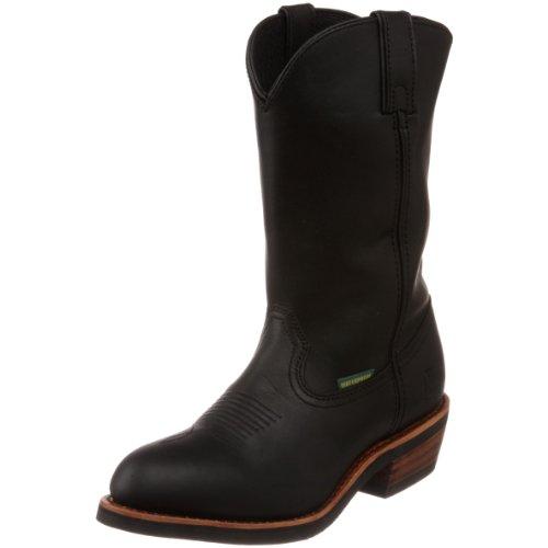 Dan Post Men's Albuquerque Pull-On Boot,Black,10.5 D US