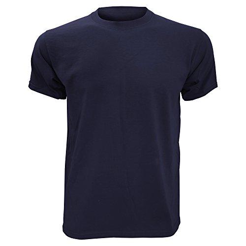 Fruit of the Loom - Camiseta Básica de Manga Corta para Hombre Fabricada con 100% Algodón Belcoro®