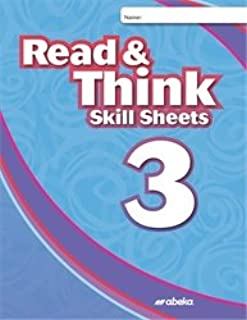 Read and Think 3 Skill Sheets - Abeka 3rd Grade 3 Phonics Reading Development and Comprehension Student Activity Book