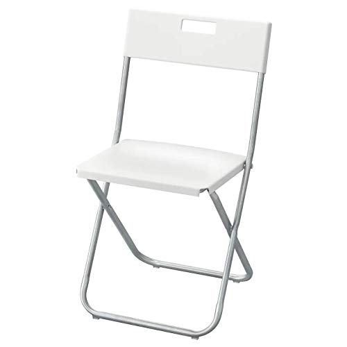 Gunde - Silla Plegable, Color Blanco