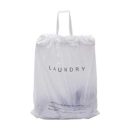 Pack of 100 Tear Strip Laundry Bags 14 x 24. Ultra Thin