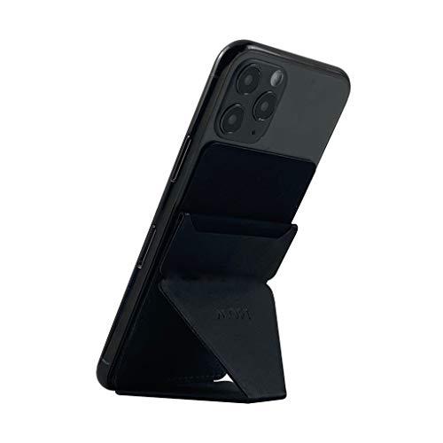MOFT X 最薄クラス スマホスタンド スマホホルダー スキミング防止カードケース iPhone/Android全機種対応 (ブラック)