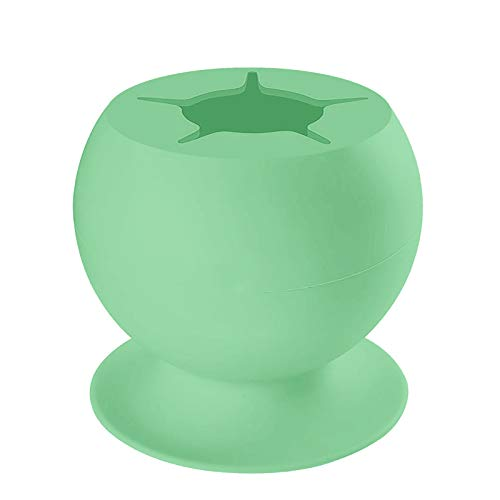 Wyongtao Scrap Collector,Weed Weed Waste Collector,Weed Waste Collector,Vinyl Silicone Suction Cup,Weed Tool Kit,For Sculpting, Weeding(Green)