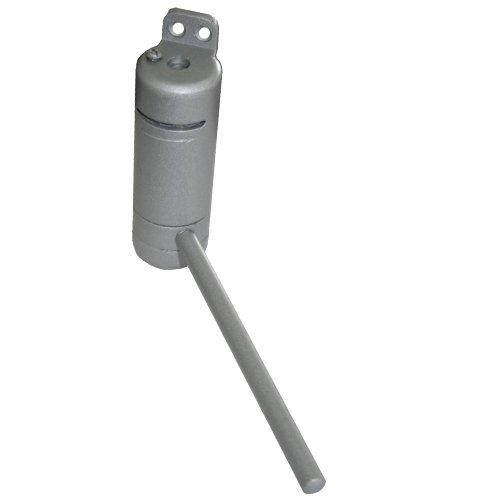 1 Türschliesser aus Metall silber 86 x 30 x 150mm 6046
