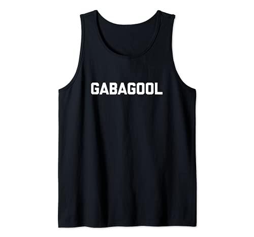 Gabagool Camiseta divertida frase sarcástica novedad comida italiana Camiseta sin Mangas