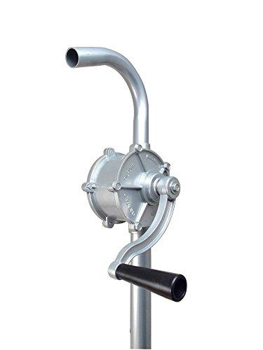 Toolzy 100466 38l/min Kurbelfasspumpe Fasspumpe Handpumpe G2 Fassverschraubung Kurbelpumpe Aus Aluminium Umfüllpumpe Ölpumpe