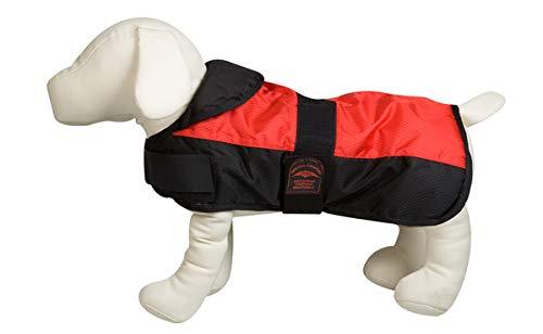 Karlie 5232281 Hundemantel Eisbär L: 60 cm rot 2 Bauchgurte