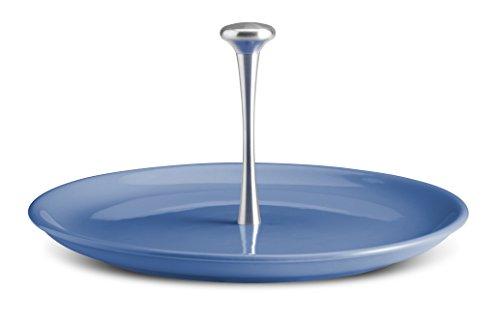 Kaleidos–Tafelaufsatz Teller Käse und Kuchen Mykonos Blue