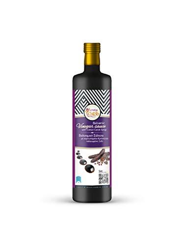 CretaCarob, süße Balsamico Sauce mit Carob Sirup 250 ml