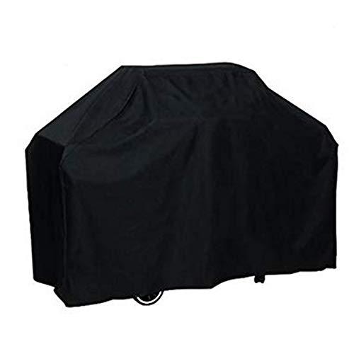 Fablcrew Housse de Protection pour Barbecue BBQ Couverture de Barbecue Rectangulaire Anti-poussière Anti-UV Imperméable Extérieur Barbuae Grill Noir 150 * 100 * 125CM