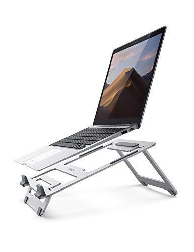 UGREEN Laptop Ständer Verstellbar Laptop Halterung Notebook Ständer Halter Aluminium Laptopständer für 11 bis 16 Zoll kompatibel mit MacBook Pro, MacBook Air, Dell XPS G7, HP, ThinkPad, HP X360 usw.