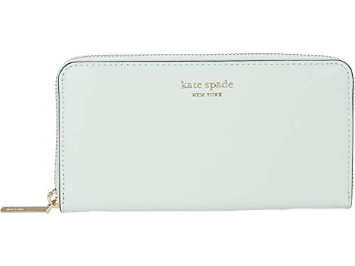Kate Spade New York Spencer Zip Around Continental Wallet Crystal Blue One Size