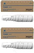 Konica Minolta A202031 TN217 OEM Toner Cartridge 2 Pack, 17500 Page-Yield Per Ctg, Black