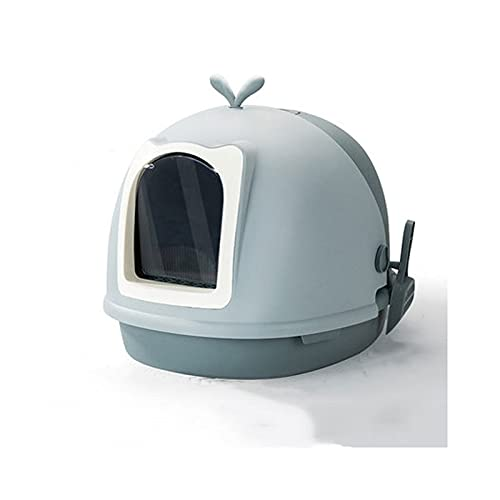 Tingting1992 Litter Boxes Cat Litter Box Fully Enclosed Drawer Type Cat Toilet Large Anti-splashing and Deodorizing Cat Tray is Easy To Clean Pet (Color : B)