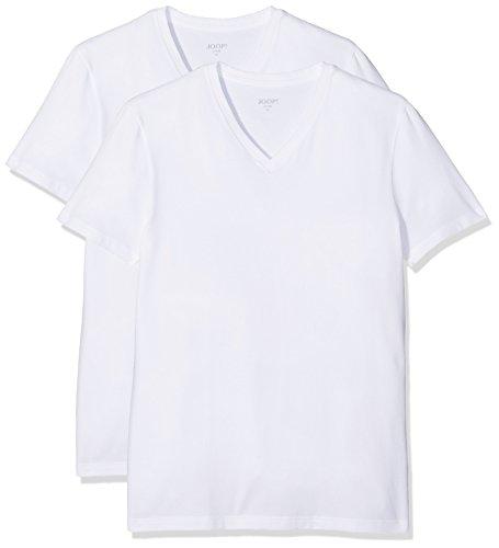Joop! Herren T-Shirt , Einfarbig, Gr. XX-Large, Weiß (White Uni 100)