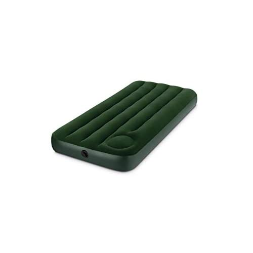 Intex Downy, Materasso Camping, Verde, 76 x 191 x 22 cm