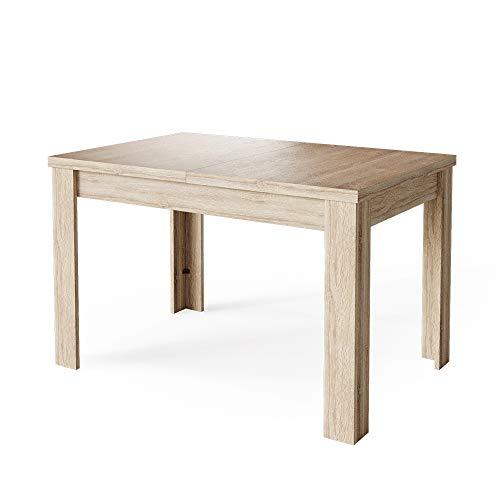 Vicco Esstisch Esszimmertisch Küchentisch ausziehbar 120-160x80cm Tisch (Sonoma)