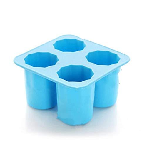 siqiwl Bandeja Cubitos de Hielo Silicona Mold Summer Bar Party Beer Ice Drink Tool Accesorios Blue