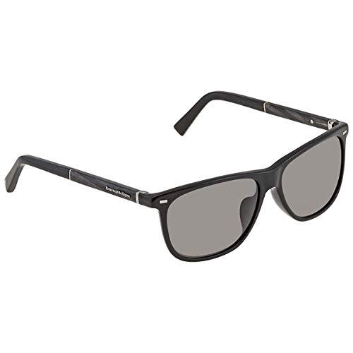 Ermenegildo Zegna Sonnenbrille EZ0009-F Gafas de sol, Negro (Schwarz), 60.0 para Hombre