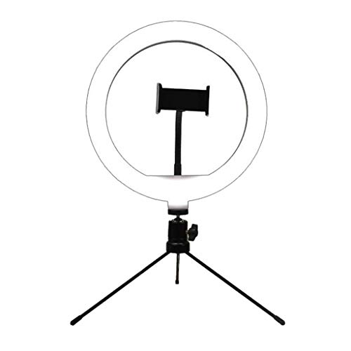 Baoblaze 10 '' Dimmable LED Light Studio Photo Video Lámpara Selfie Camera Phone USB