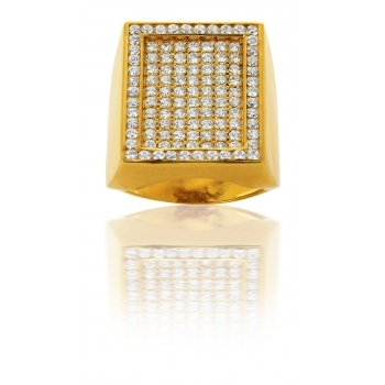 AvenueDuBijou Hombre Or - 750/1000 Oro amarillo 750/1000 Cubic Zirconia