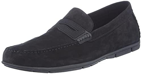 Aldo Men's Kennigoflex Loafer Flat, Black, 10 UK