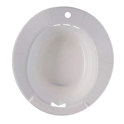 IPOTCH Sitzbad Bidet Einsatz Toiletteneinsatz Sitzbadewanne Perfekt für Schwangere, Hämorrhoiden-Patienten - Weiß
