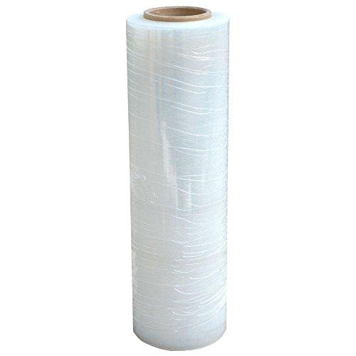 St@llion - Rollo de plástico para embalar, 40 cm x 250 m, transparente ⭐