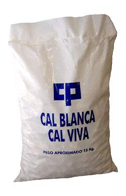 CAL VIVA EN PIEDRA 15 KG. Alta pureza.