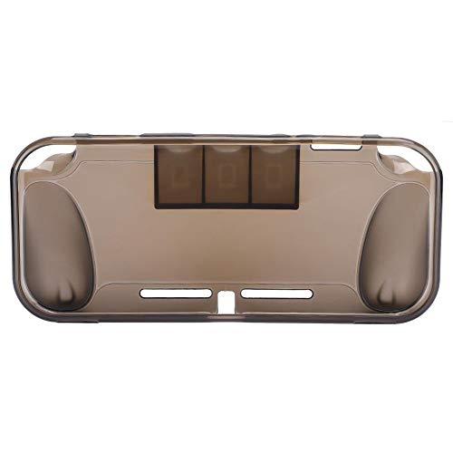 Beschermhoes voor Switch Lite Full Body Soft Case, met 3 kaartsleuven en antislip TPU en comfortabel handgevoel en slijtvast, voor Nintendo Switch Lite Portable Gaming System(grijs)