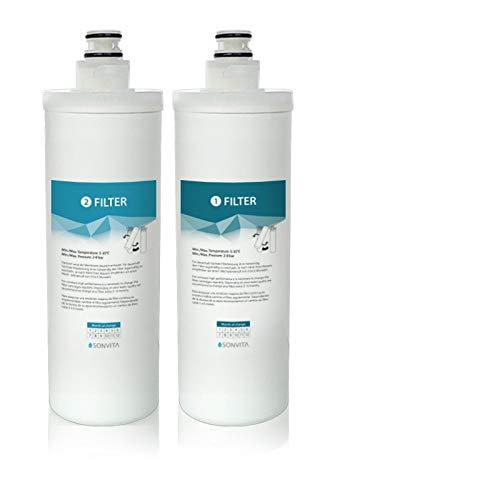 Sonvita Filterset für Pura/Pura UP Wasserfilter   Osmose Ersatzfilter