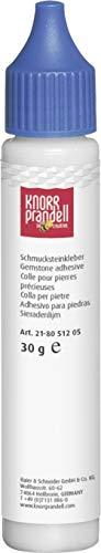 KnorrPrandell 8051205 Schmucksteinkleber, 30 ml, farblos