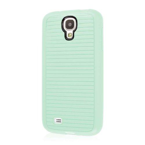 Empire Gruve - Custodia Protettiva in TPU per Samsung Galaxy S4, Proteggi Schermo Incluso, Colore: Verde Menta