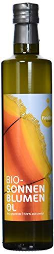 Fandler Bio-Sonnenblumenöl, 1er Pack (1 x 500 ml)