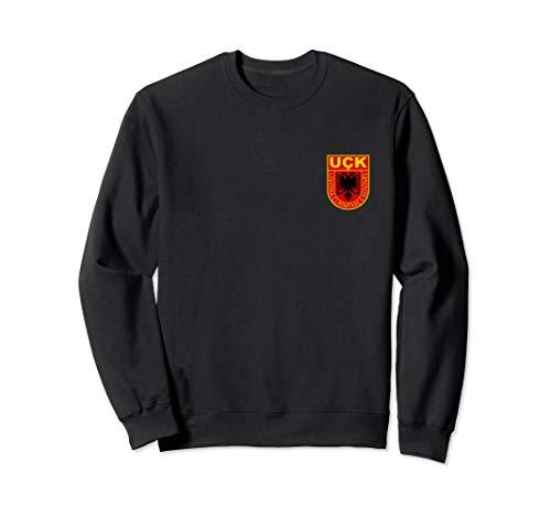 kosovarische Armee shirt logo Wappen albaner kosovo uqk uck Sweatshirt