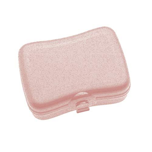 Koziol Lunchbox Basic, Brotdose, Speisegefäß, Brotbox, Thermoplastischer Kunststoff, Organic Pink, 3081669