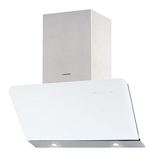 Nodor Dali white Wandhaube / 90,0 cm/LED Display/weiß
